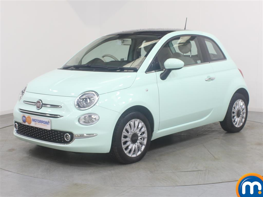 Fiat 500 Lounge - Stock Number (1000873) - Passenger side front corner