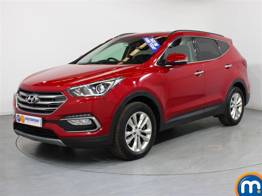 Hyundai Santa Fe Premium - Stock Number (1005366) - Passenger side front corner