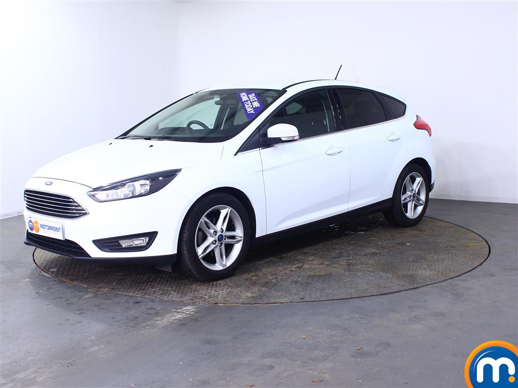 Ford Focus Zetec Edition - Stock Number (1006172) - Passenger side front corner