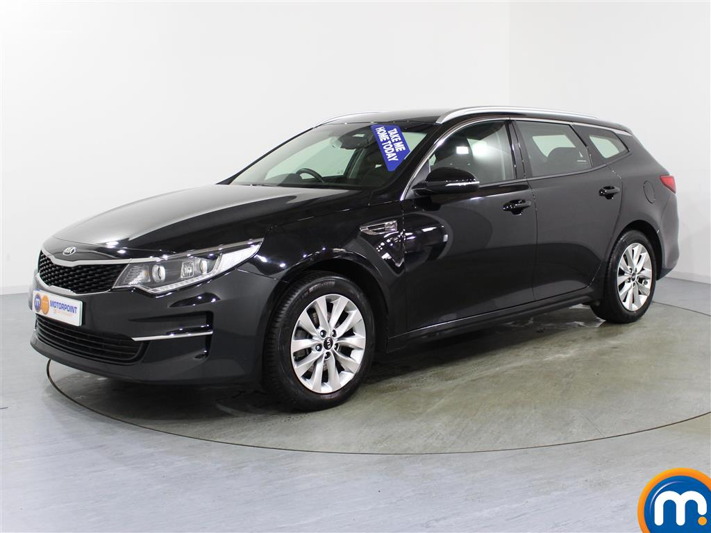 KIA Optima 2 - Stock Number (1006039) - Passenger side front corner