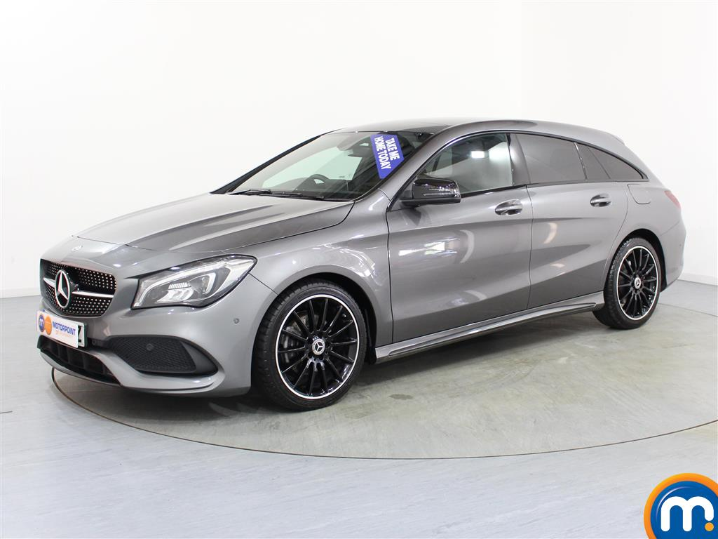 Mercedes-Benz Cla Class AMG Line Night Edtion Plus - Stock Number (1009443) - Passenger side front corner