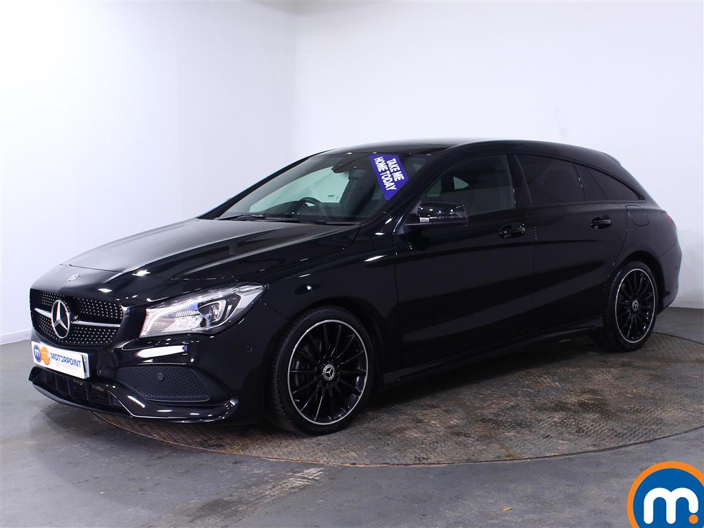 Mercedes-Benz Cla Class AMG Line Night Edtion Plus - Stock Number (1009434) - Passenger side front corner