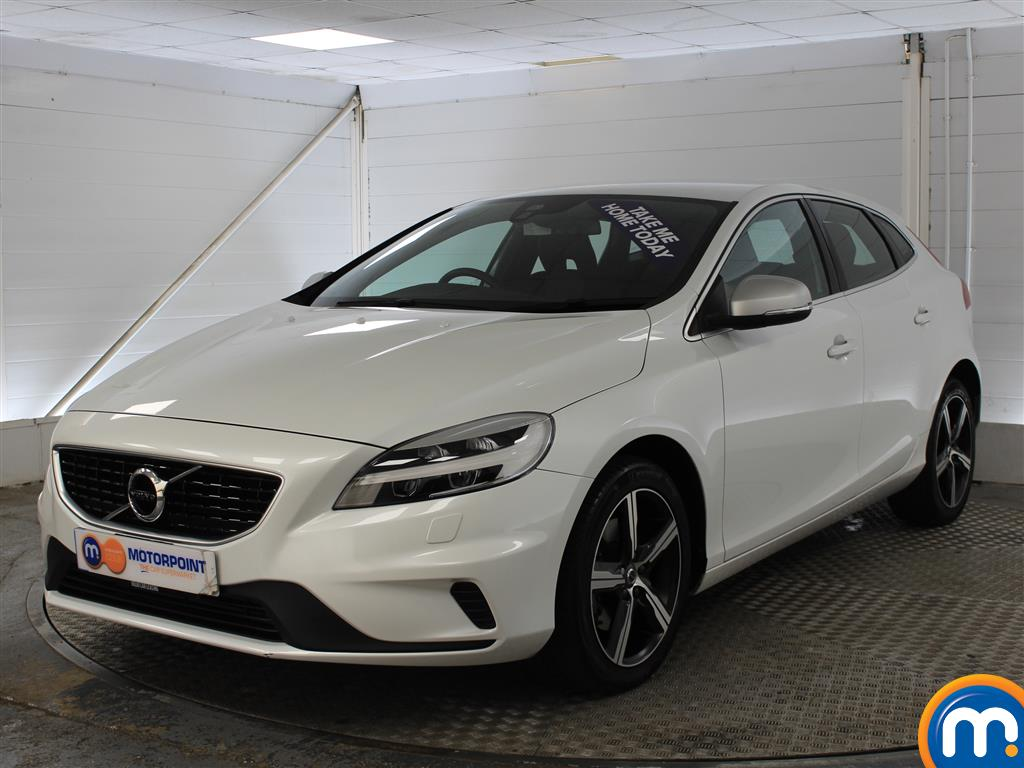 Volvo V40 R Design Nav Plus - Stock Number (1009052) - Passenger side front corner