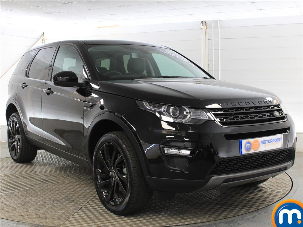 Land Rover Discovery Sport Hse Black Automatic Diesel 4X4 - Stock Number (1005745) - Drivers side front corner