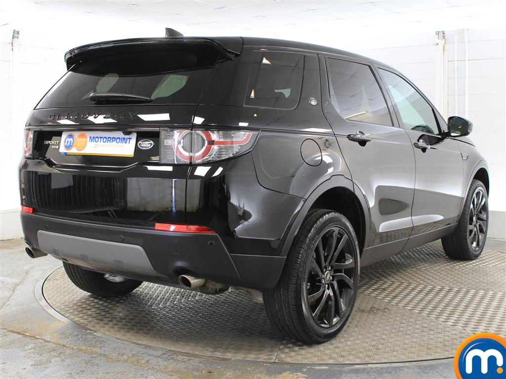 Land Rover Discovery Sport Hse Black Automatic Diesel 4X4 - Stock Number (1005745) - Drivers side rear corner