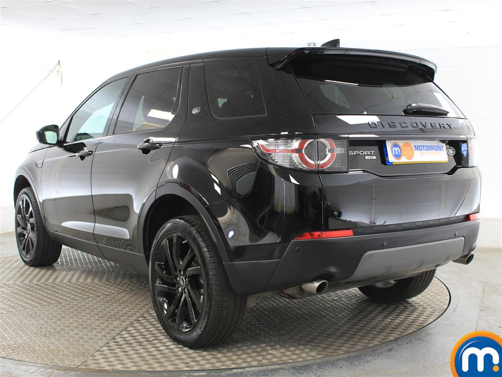 Land Rover Discovery Sport Hse Black Automatic Diesel 4X4 - Stock Number (1005745) - Passenger side rear corner