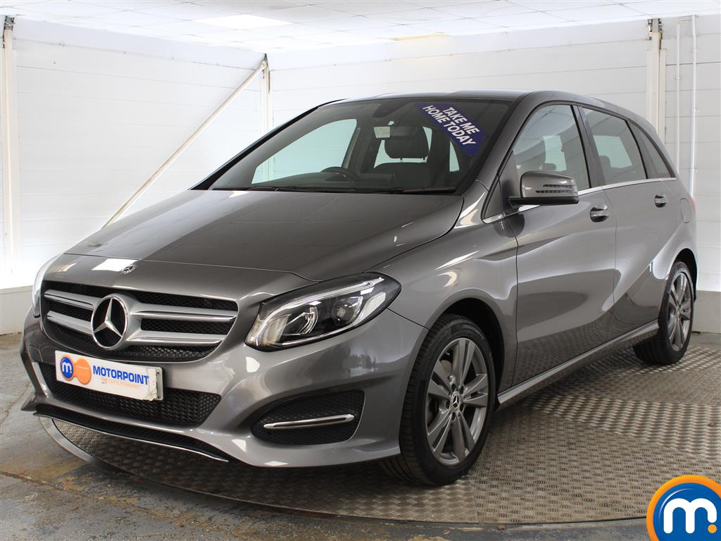 Mercedes-Benz B Class Exclusive Edition - Stock Number (1008682) - Passenger side front corner