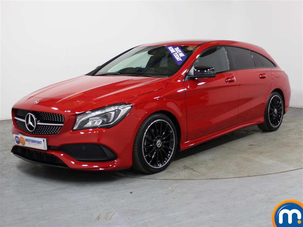Mercedes-Benz Cla Class AMG Line Night Edtion - Stock Number (1005044) - Passenger side front corner