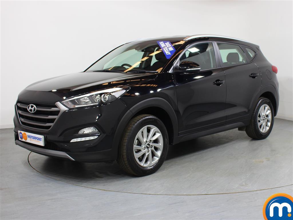 Hyundai Tucson SE - Stock Number (1004182) - Passenger side front corner