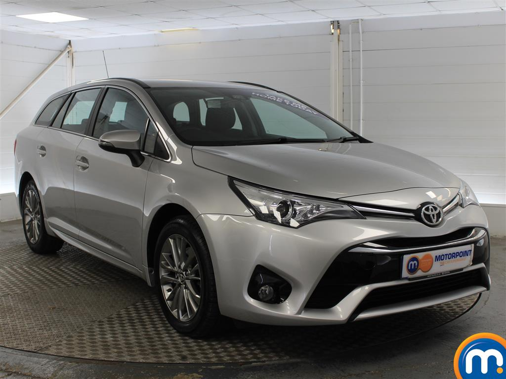 Toyota Avensis Business Edition Manual Diesel Estate - Stock Number (1009051) - Drivers side front corner