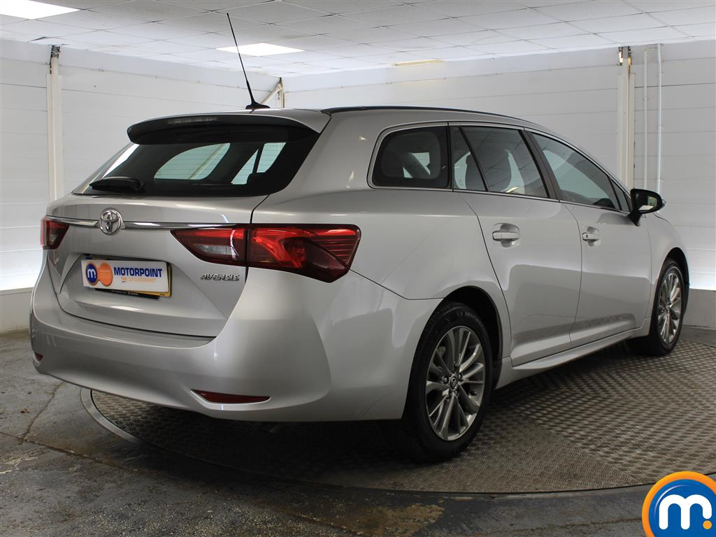 Toyota Avensis Business Edition Manual Diesel Estate - Stock Number (1009051) - Drivers side rear corner