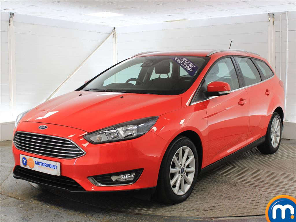 Ford Focus Titanium - Stock Number (1013327) - Passenger side front corner