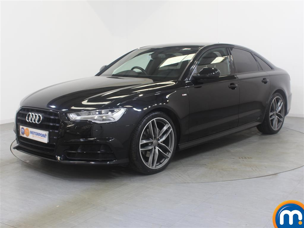 Audi A6 Black Edition - Stock Number (990340) - Passenger side front corner