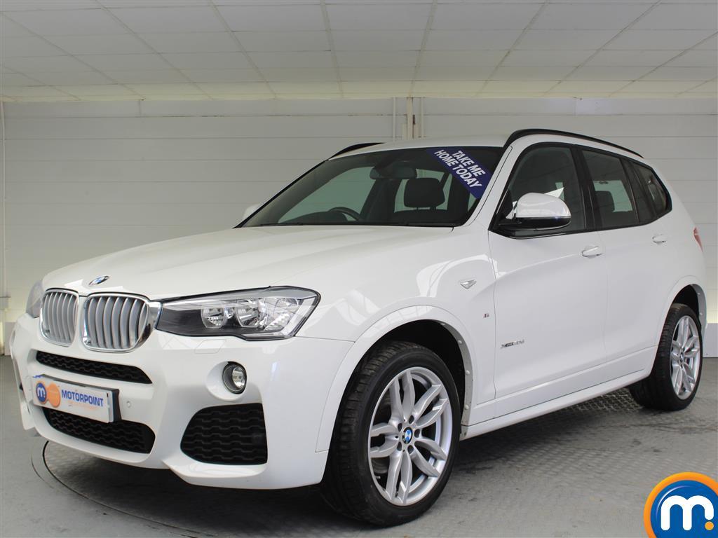 BMW X3 M Sport - Stock Number (994350) - Passenger side front corner