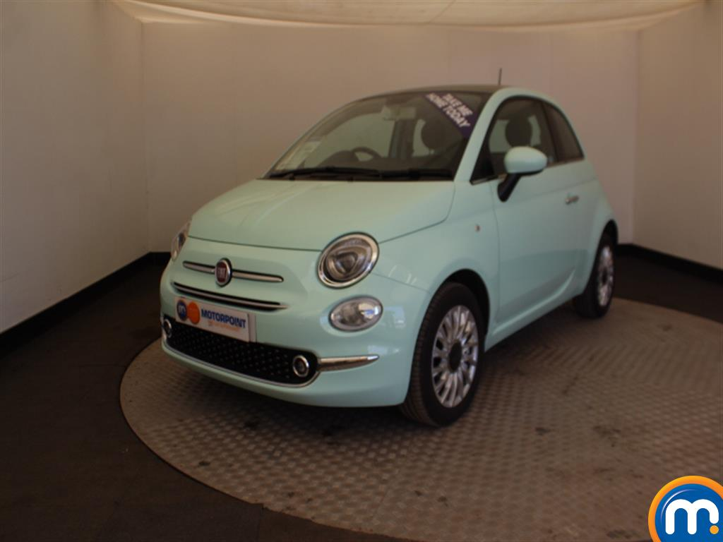 Fiat 500 Lounge - Stock Number (1003378) - Passenger side front corner