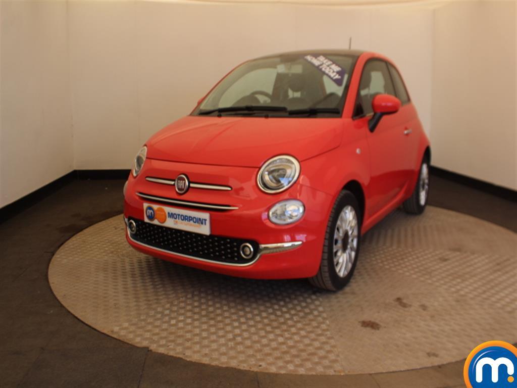 Fiat 500 Lounge - Stock Number 1003379 Passenger side front corner