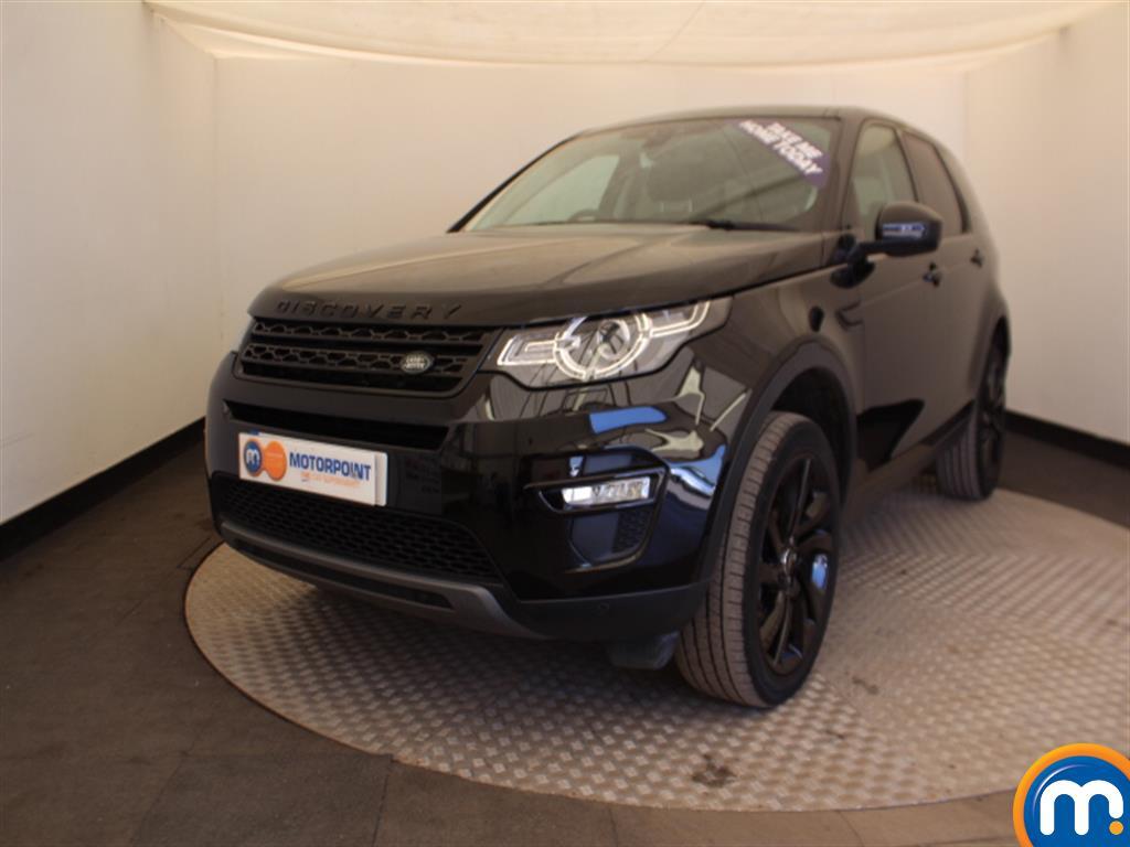 Land Rover Discovery Sport HSE Black - Stock Number (1009780) - Passenger side front corner