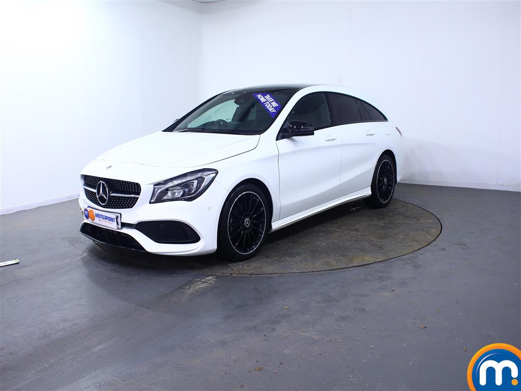 Mercedes-Benz Cla Class AMG Line Night Edtion Plus - Stock Number (1011210) - Passenger side front corner
