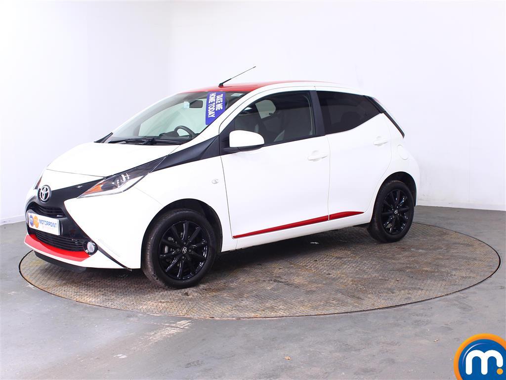 Toyota Aygo X-Press - Stock Number (1013797) - Passenger side front corner