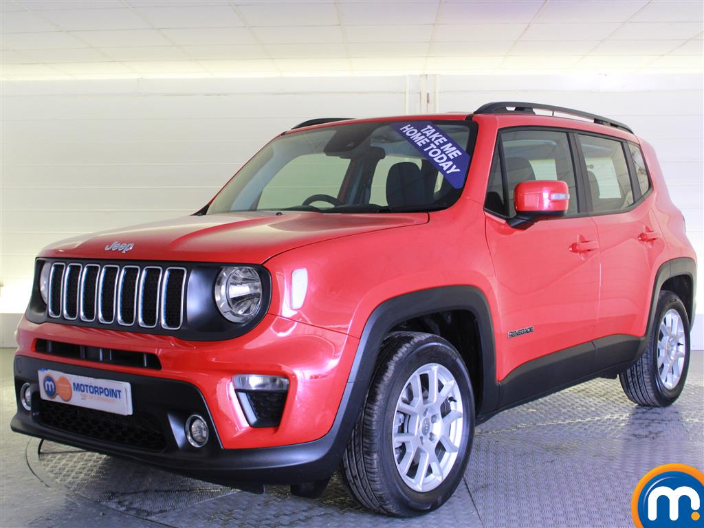 Jeep Renegade Longitude - Stock Number (1007202) - Passenger side front corner
