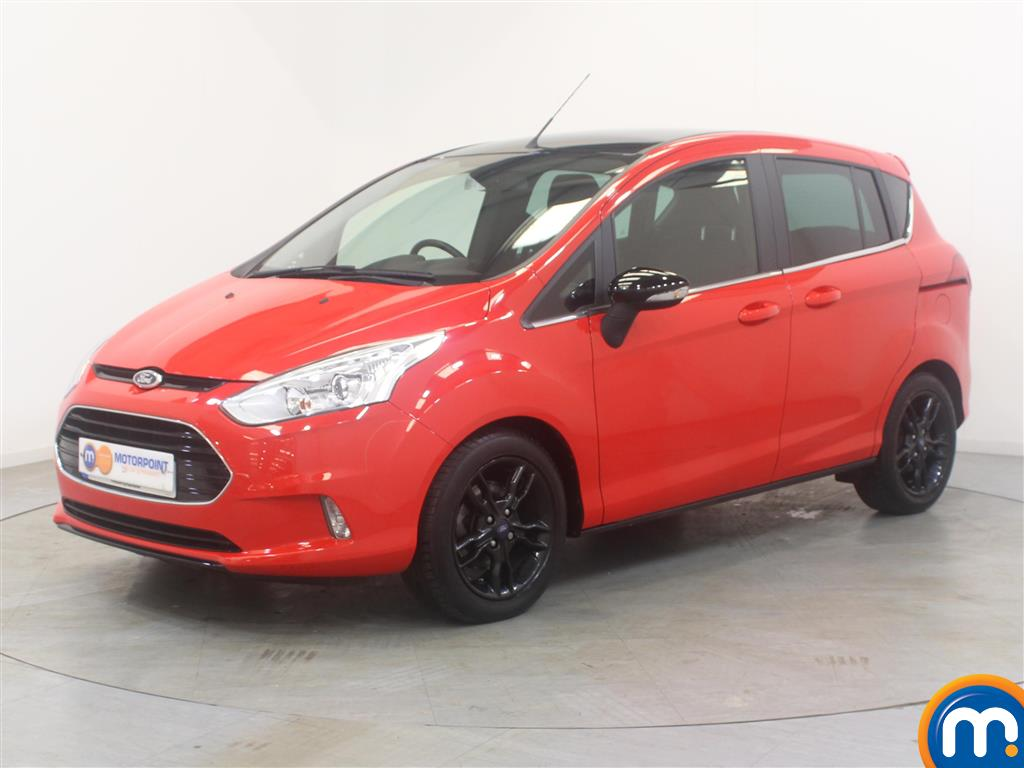 Ford B-Max Zetec Red Edition - Stock Number (1011397) - Passenger side front corner