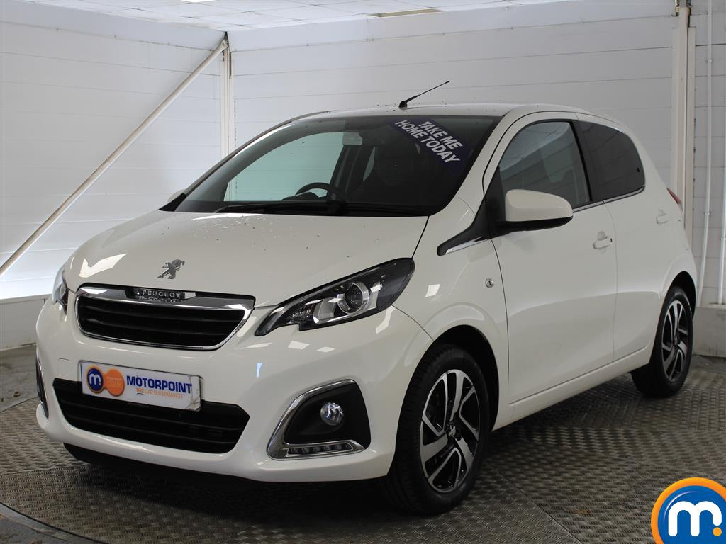 Peugeot 108 Allure - Stock Number (1014270) - Passenger side front corner
