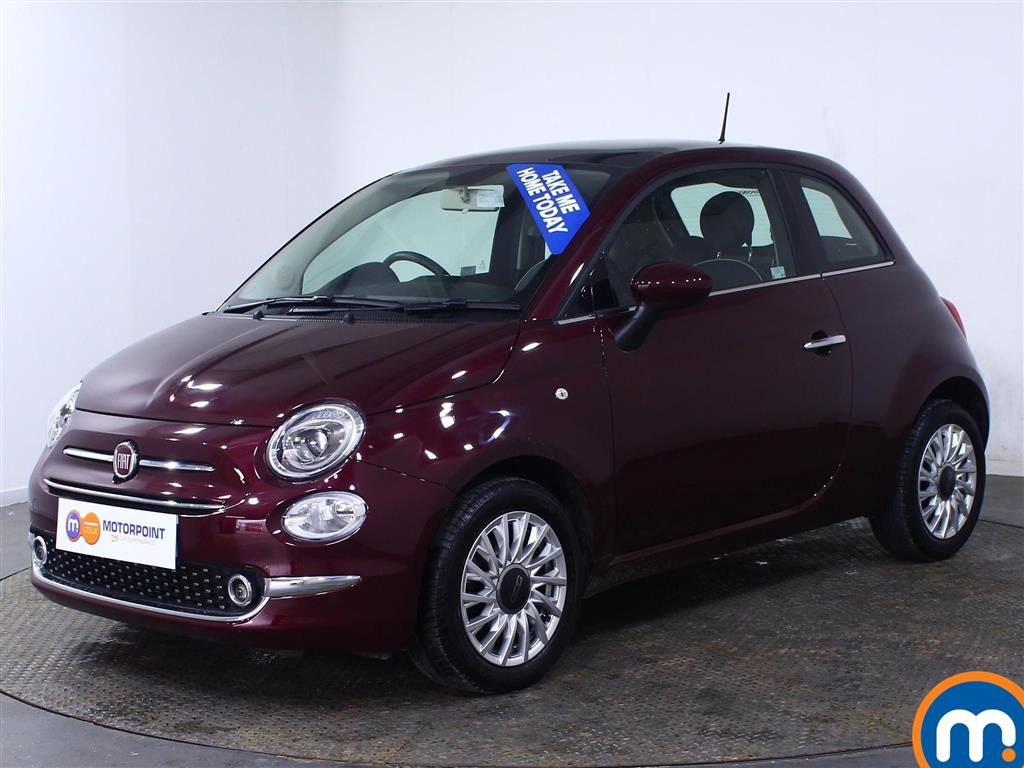 Fiat 500 Lounge - Stock Number (1007225) - Passenger side front corner