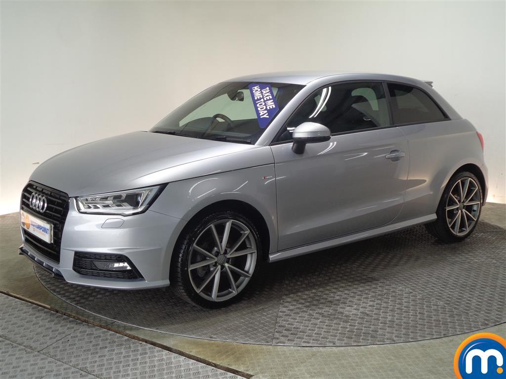 Audi A1 Black Edition Nav - Stock Number (1004030) - Passenger side front corner