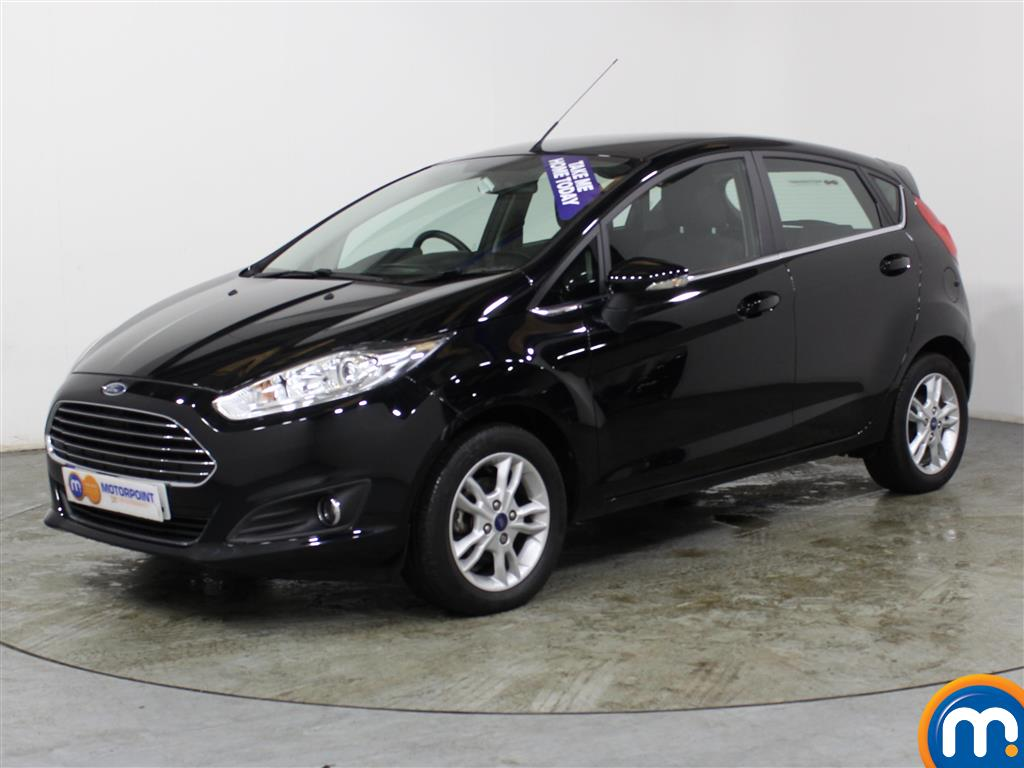 Ford Fiesta Zetec - Stock Number (977010) - Passenger side front corner