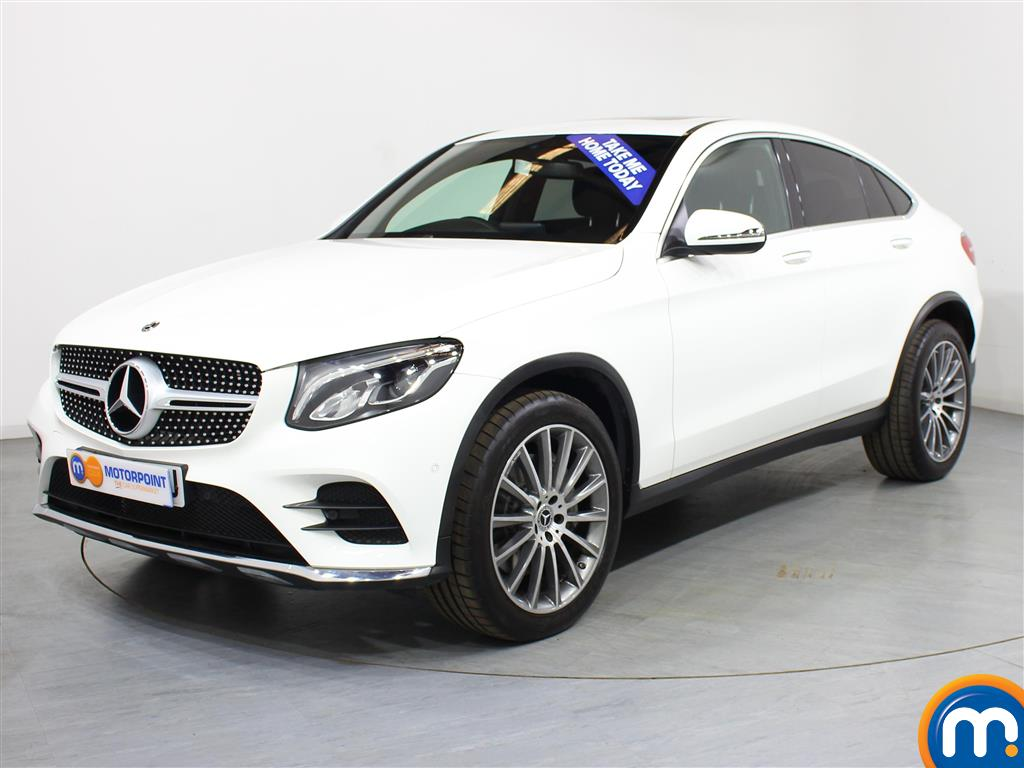 Mercedes-Benz Glc Coupe AMG Line - Stock Number (1008527) - Passenger side front corner