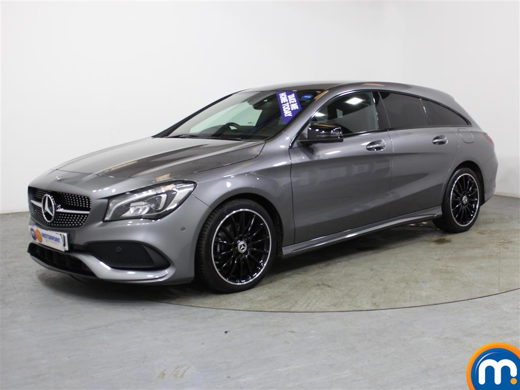 Mercedes-Benz Cla Class AMG Line Night Edtion Plus - Stock Number (1009445) - Passenger side front corner