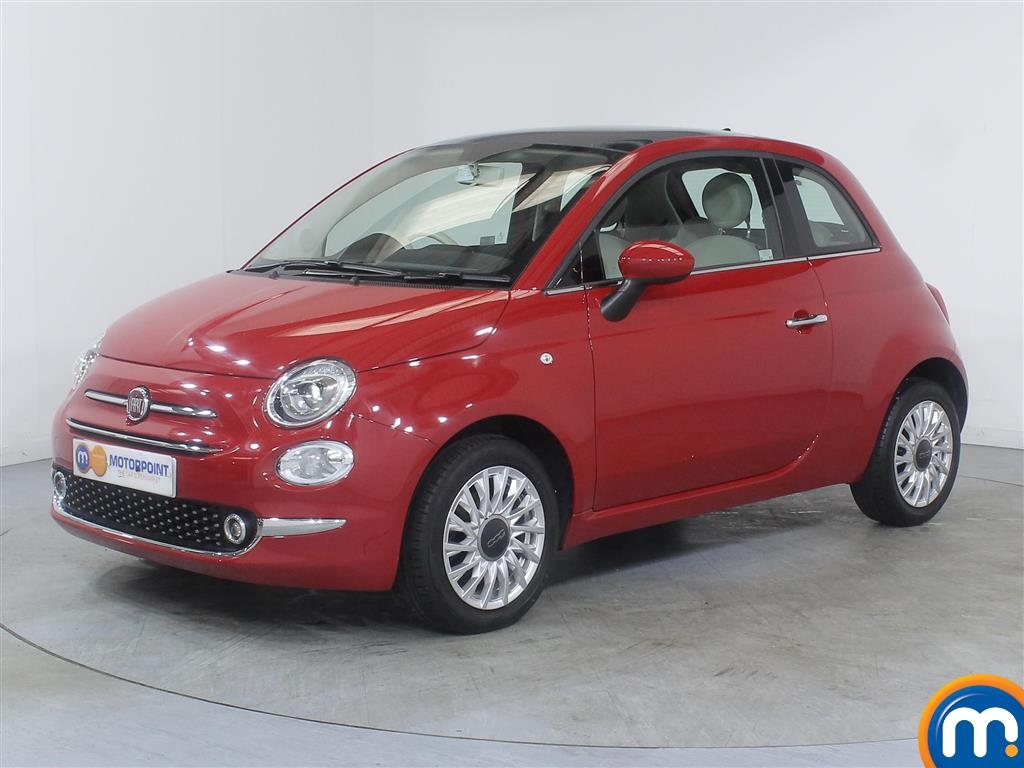 Fiat 500 Lounge - Stock Number (1014174) - Passenger side front corner