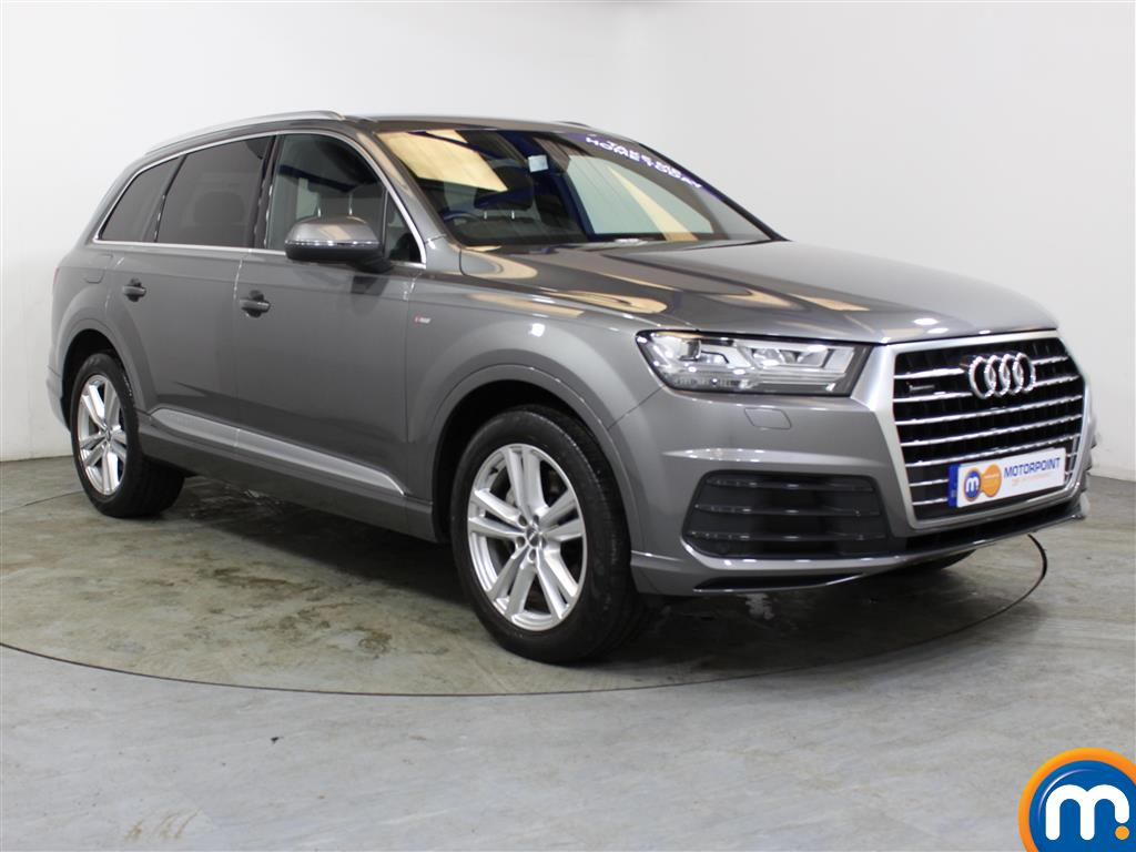 Audi Q7 S Line Automatic Diesel 4X4 - Stock Number (1010908) - Drivers side front corner