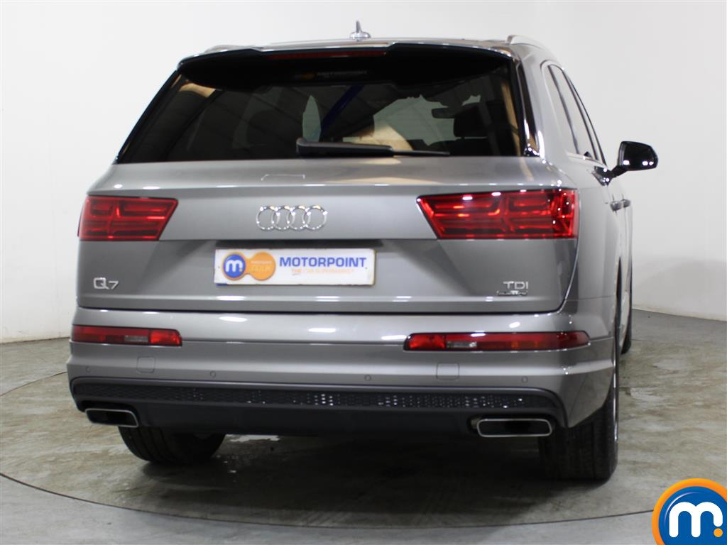Audi Q7 S Line Automatic Diesel 4X4 - Stock Number (1010908) - Passenger side rear corner