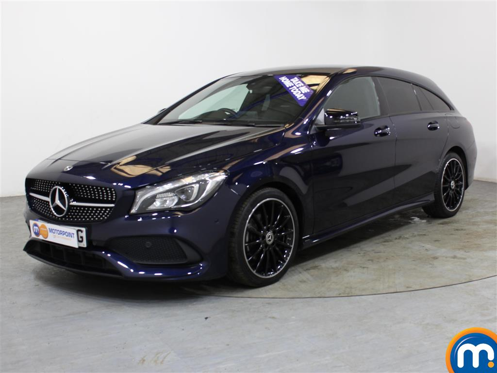Mercedes-Benz Cla Class AMG Line Night Edtion Plus - Stock Number (1009469) - Passenger side front corner