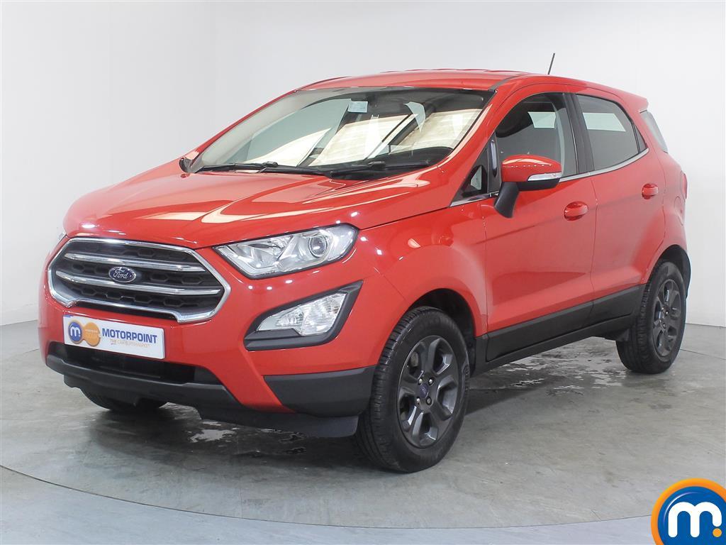 Ford Ecosport Zetec - Stock Number (1014117) - Passenger side front corner