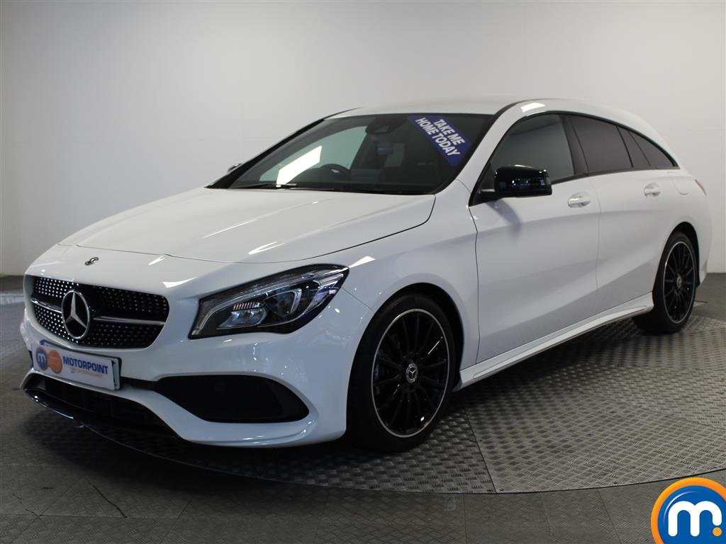 Mercedes-Benz Cla Class AMG Line Night Edtion - Stock Number (1005043) - Passenger side front corner