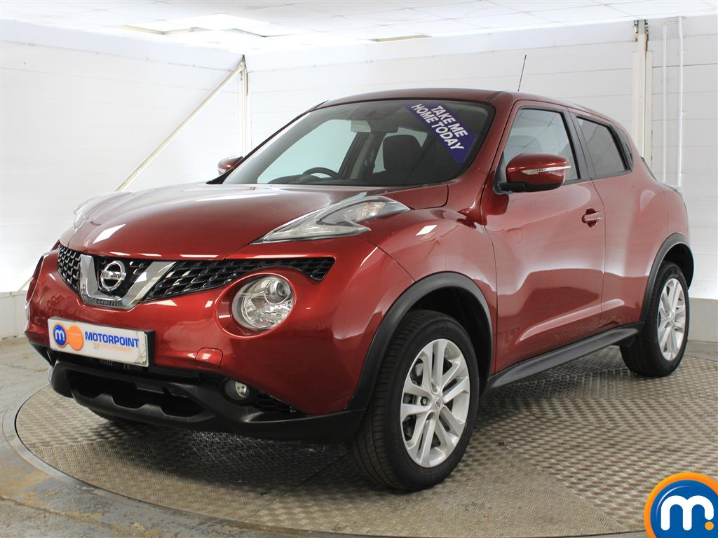 Nissan Juke Acenta Manual Petrol Hatchback - Stock Number (1015291) - Passenger side front corner