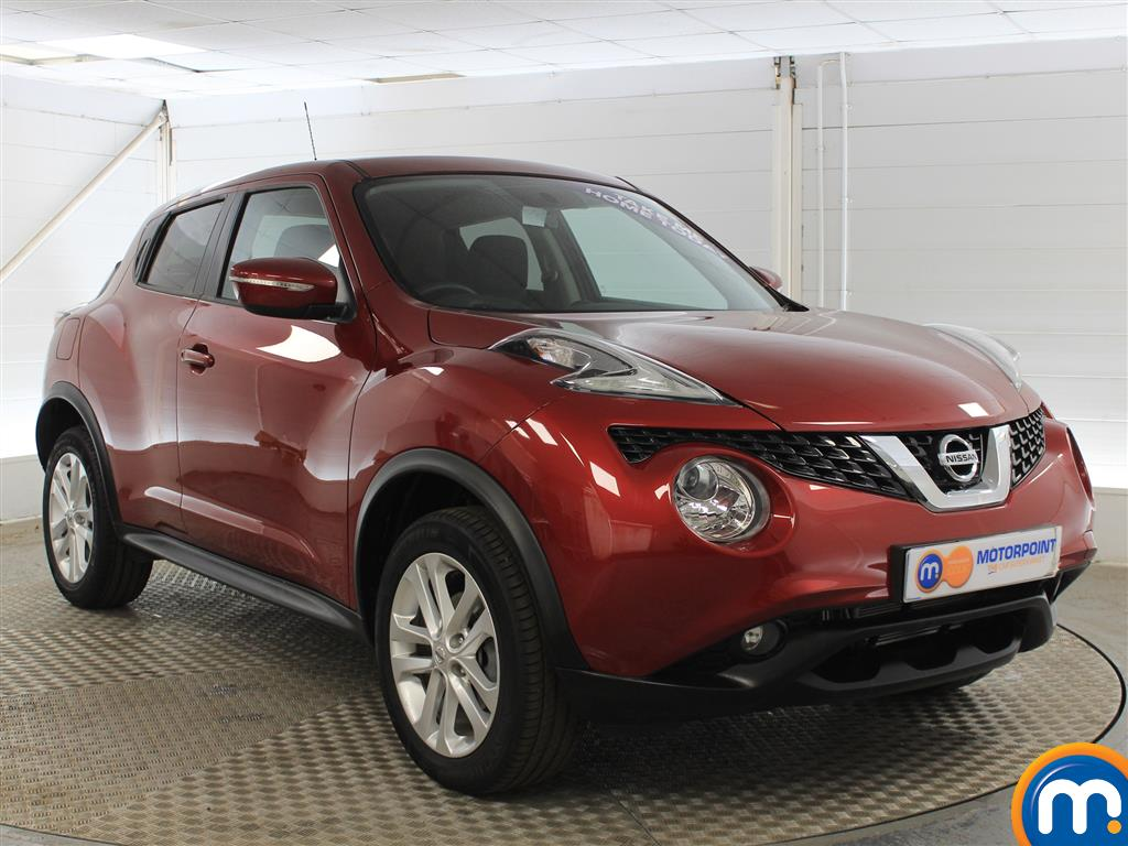 Nissan Juke Acenta Manual Petrol Hatchback - Stock Number (1015291) - Drivers side front corner