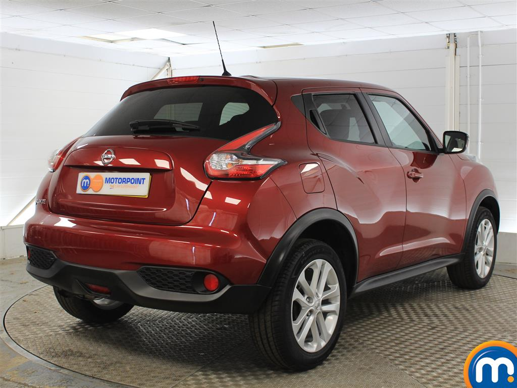 Nissan Juke Acenta Manual Petrol Hatchback - Stock Number (1015291) - Drivers side rear corner