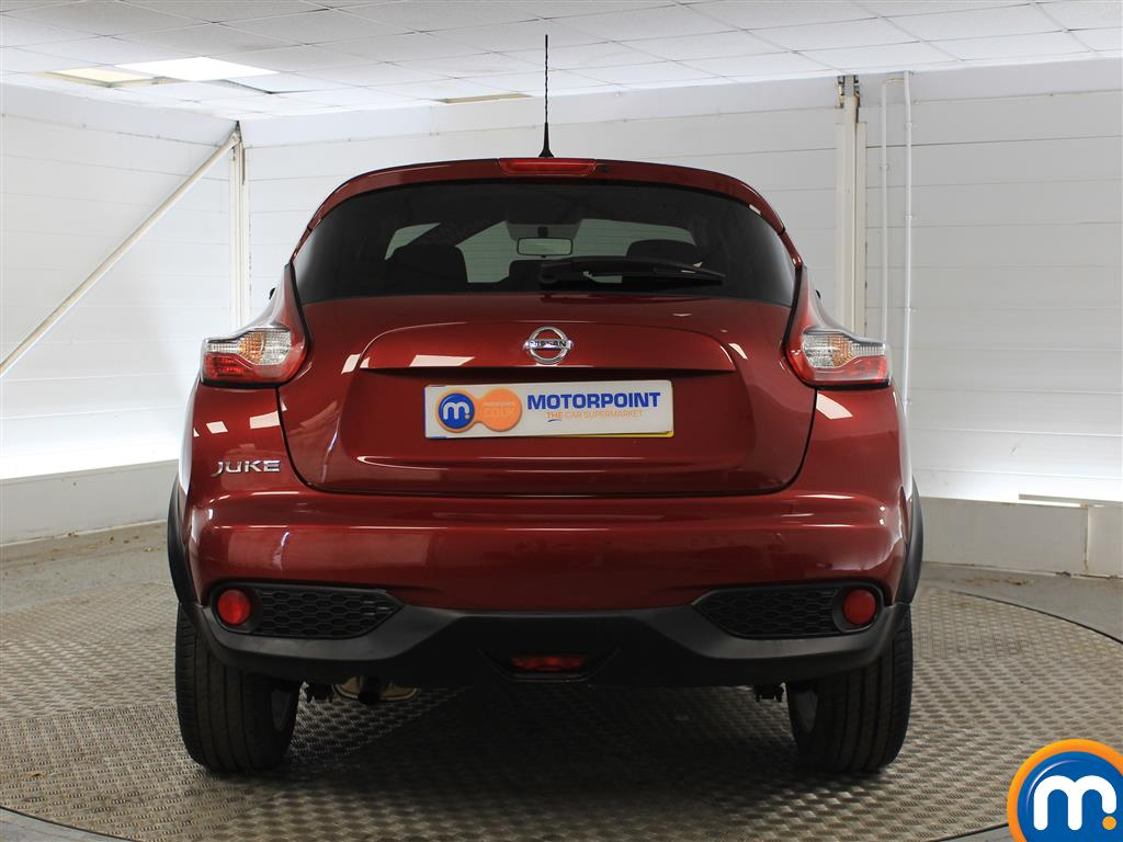 Nissan Juke Acenta Manual Petrol Hatchback - Stock Number (1015291) - Rear bumper