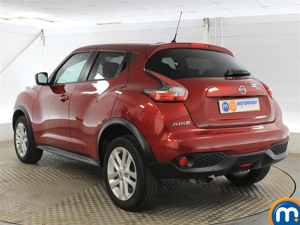 Nissan Juke Acenta Manual Petrol Hatchback - Stock Number (1015291) - Passenger side rear corner