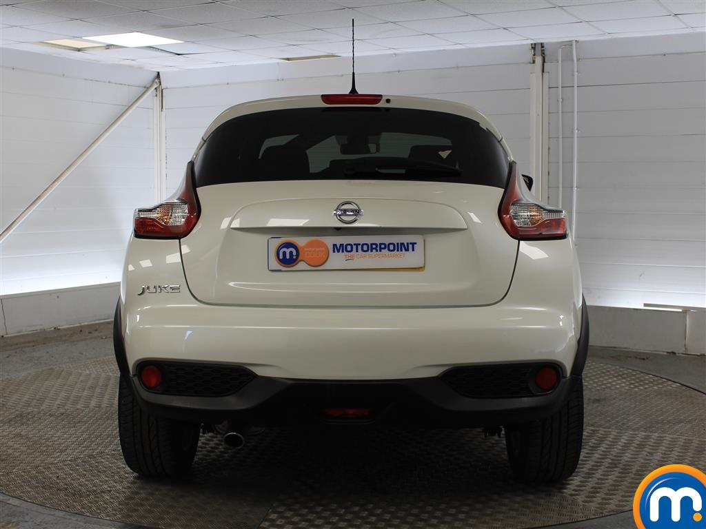 Nissan Juke Tekna Manual Diesel Hatchback - Stock Number (1011707) - Rear bumper