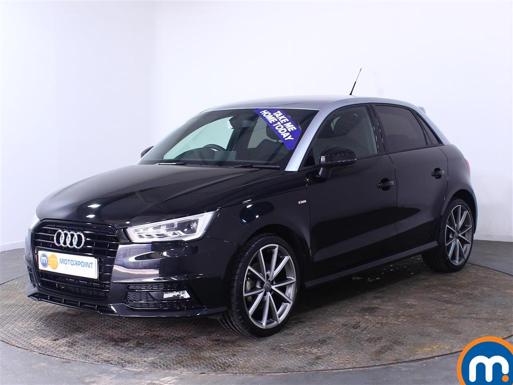 Audi A1 Black Edition Nav - Stock Number (1007528) - Passenger side front corner