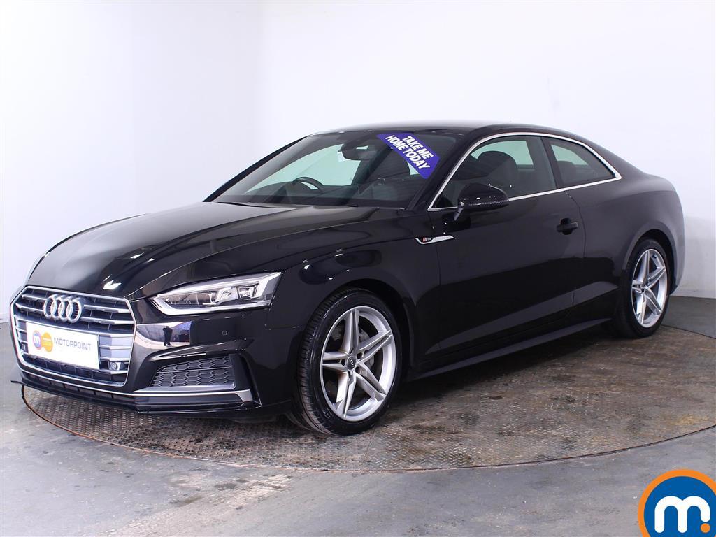 Audi A5 S Line - Stock Number (1013631) - Passenger side front corner