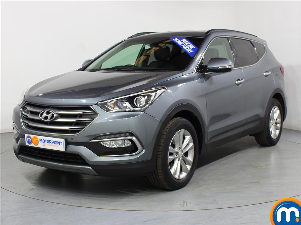 Hyundai Santa Fe Premium - Stock Number (1007129) - Passenger side front corner