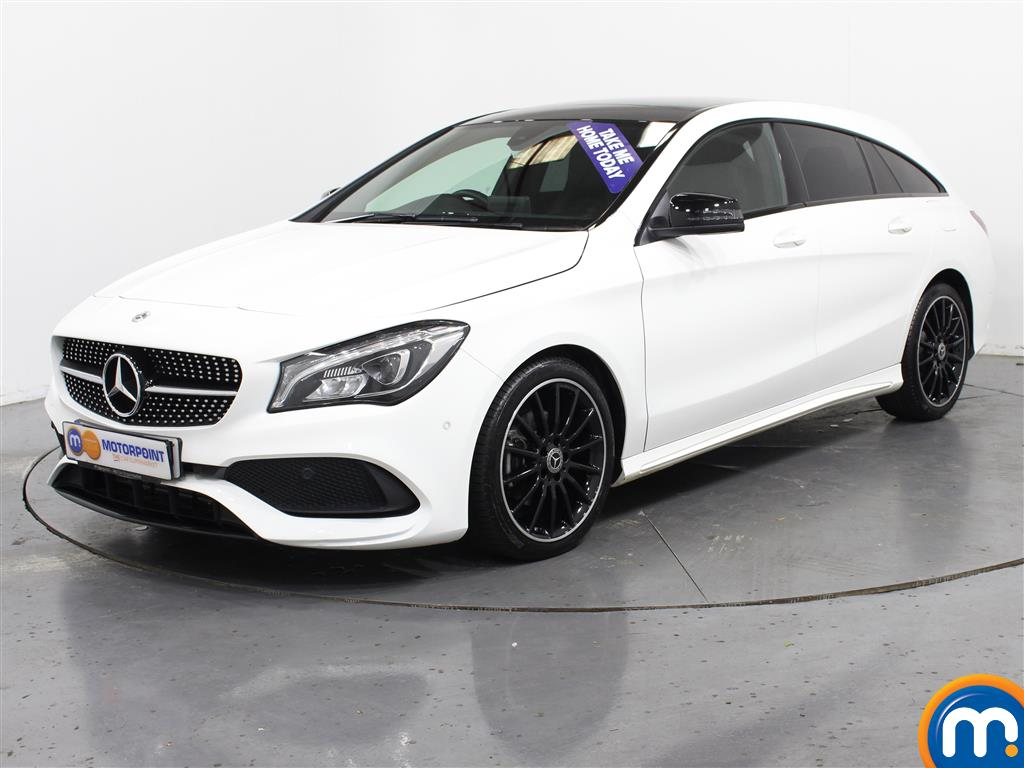 Mercedes-Benz Cla Class AMG Line Night Edtion Plus - Stock Number (1009449) - Passenger side front corner