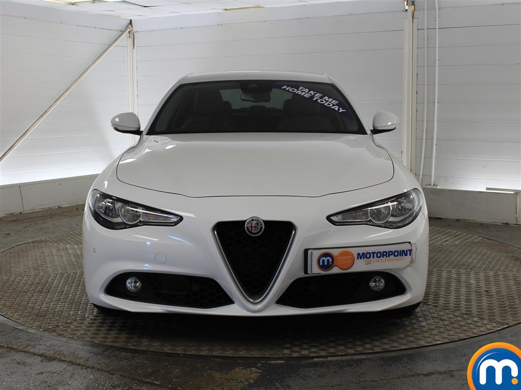 Alfa Romeo Giulia Super Automatic Diesel Saloon - Stock Number (1003345) - Front bumper