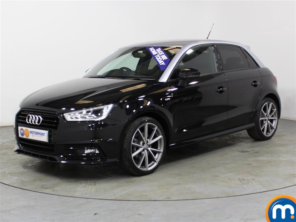 Audi A1 Black Edition Nav - Stock Number (1007531) - Passenger side front corner