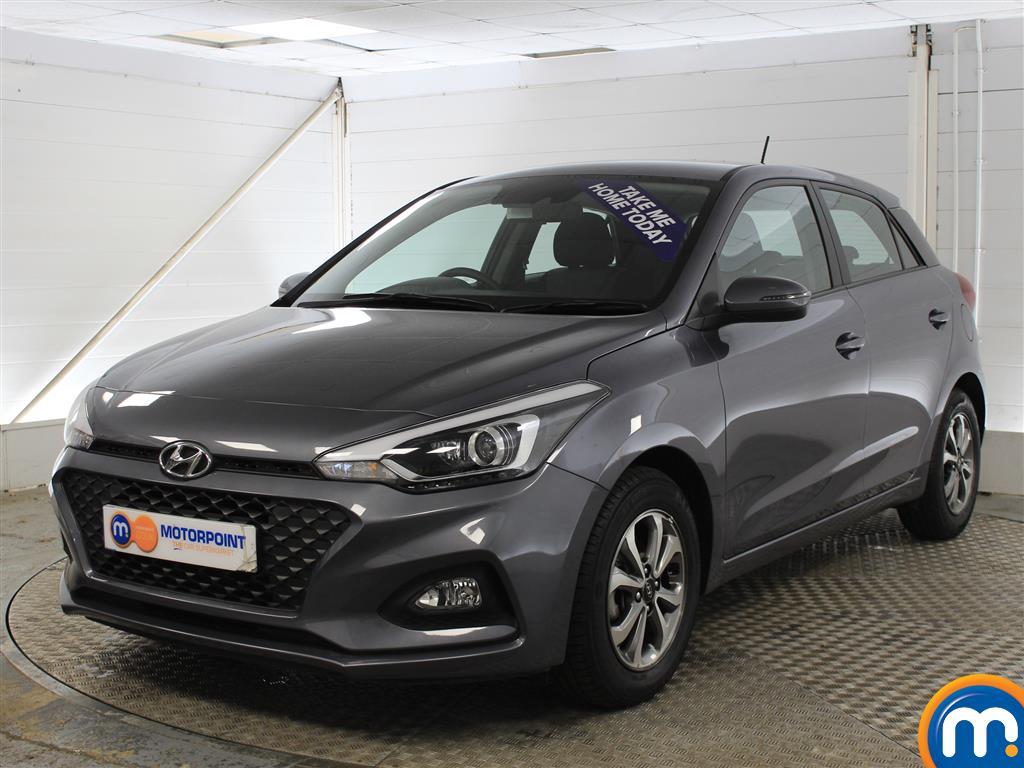 Hyundai I20 SE Manual Petrol Hatchback - Stock Number (1011672) - Passenger side front corner